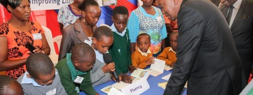 The Tusome Early Literacy Programme is a basic education initiative geared towards improving reading skills of 5.4 million Kenyan Children. (PIX: PSCU).